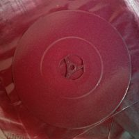 Schallplatte besprayen