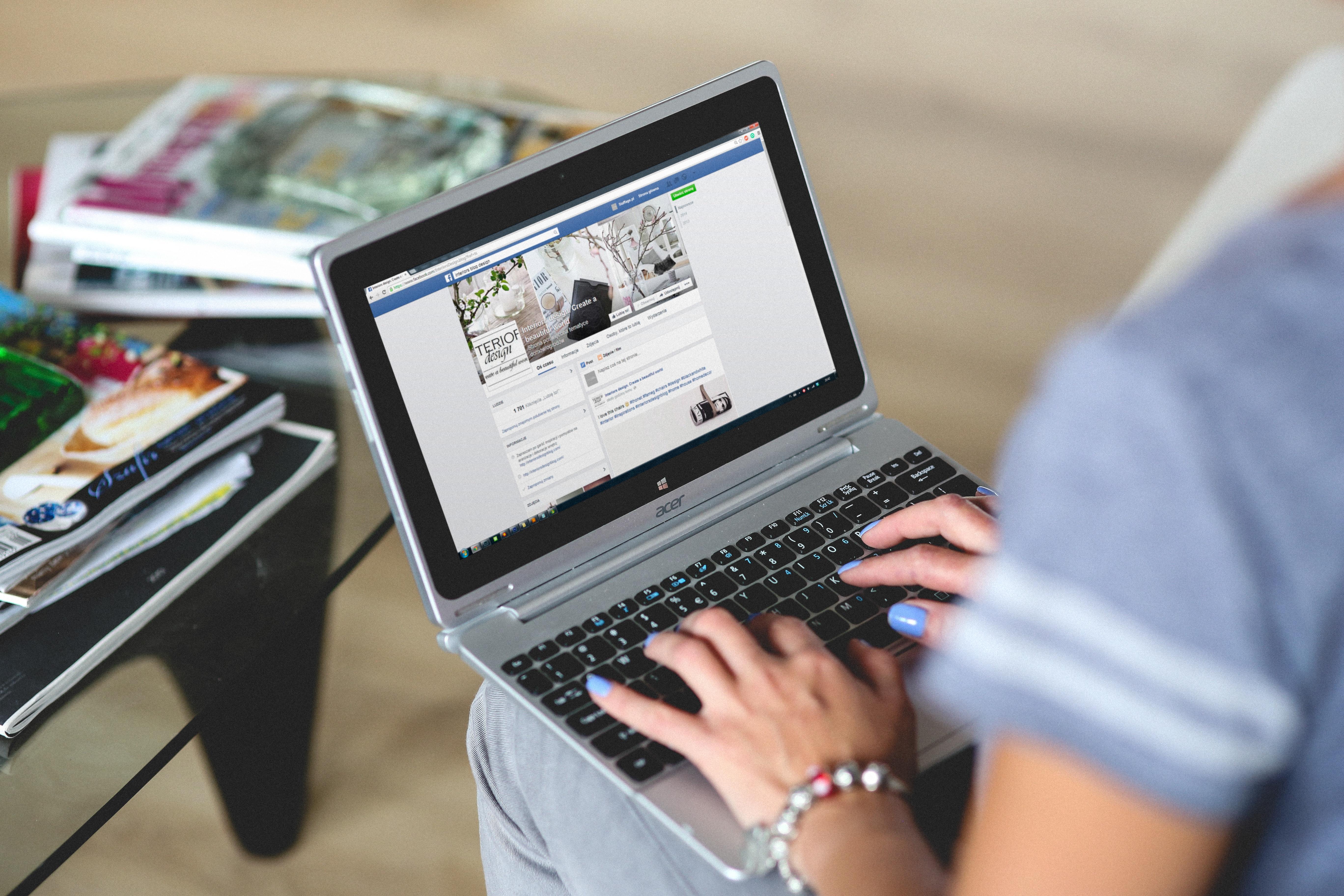 Facebook Profilansicht