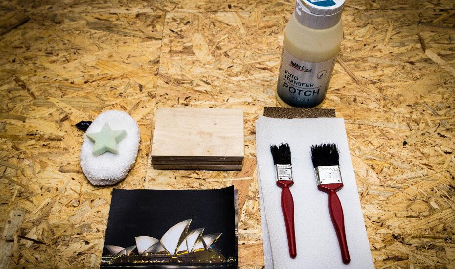 DIY – Foto auf Holz übertragen mit Foto-Potch