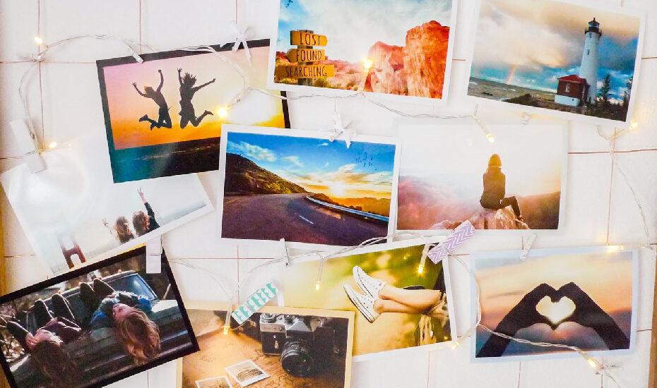 DIY – Fotorahmen mit Lichterkette