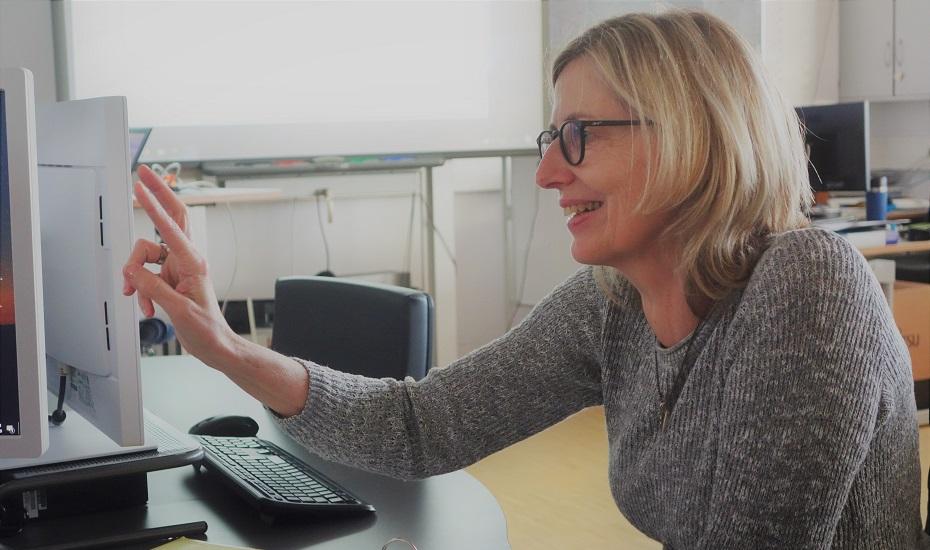 Claudia Schmidt – Mit Enthusiasmus bei der Lehre