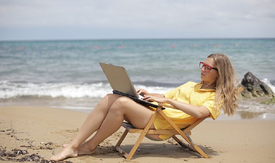 Homeoffice am Strand? Das sind Digitale Nomaden