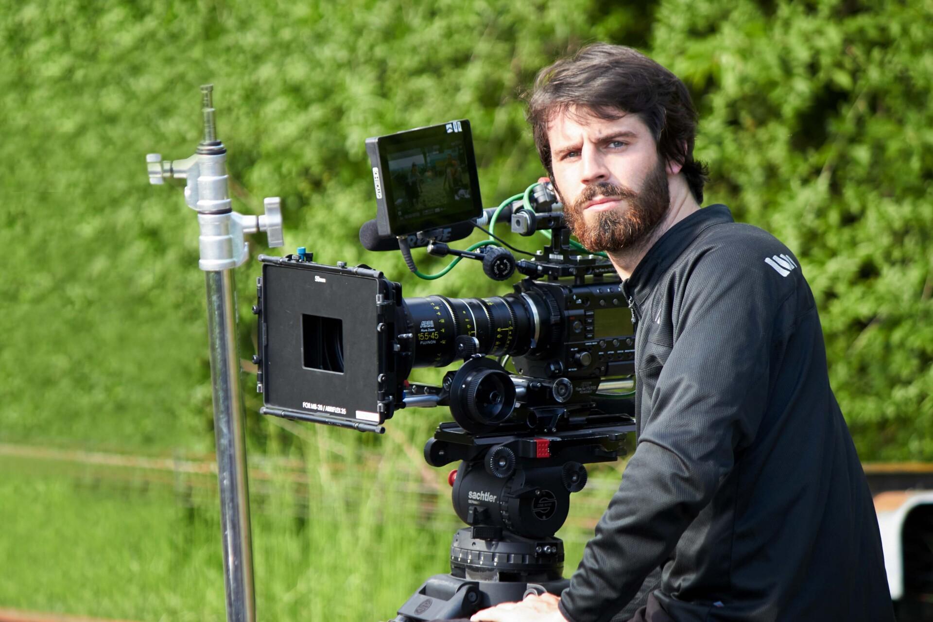 Alexander Weigand mit Kamera