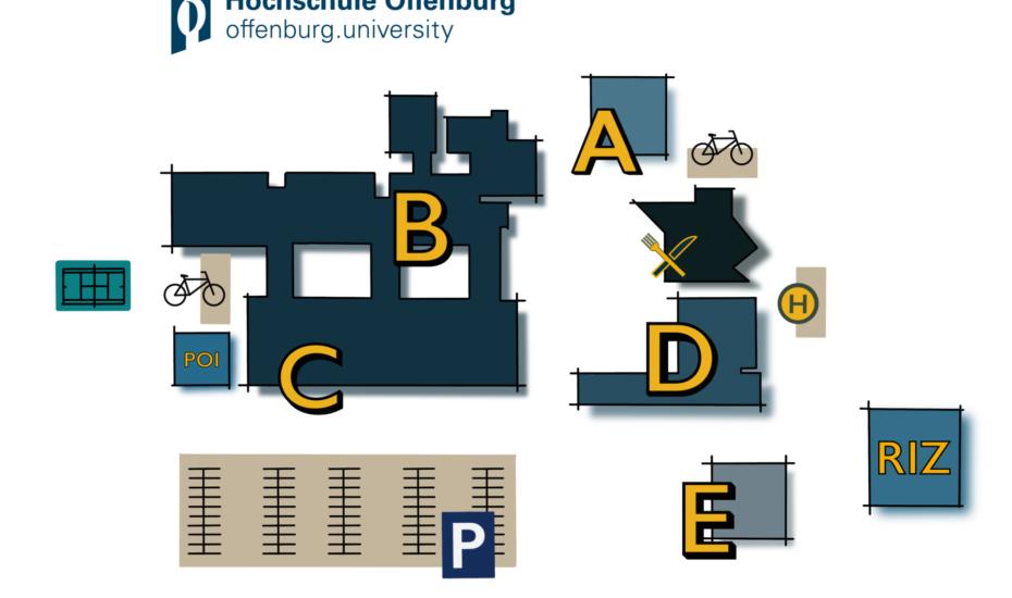 Campus-Guide für die Hochschule Offenburg