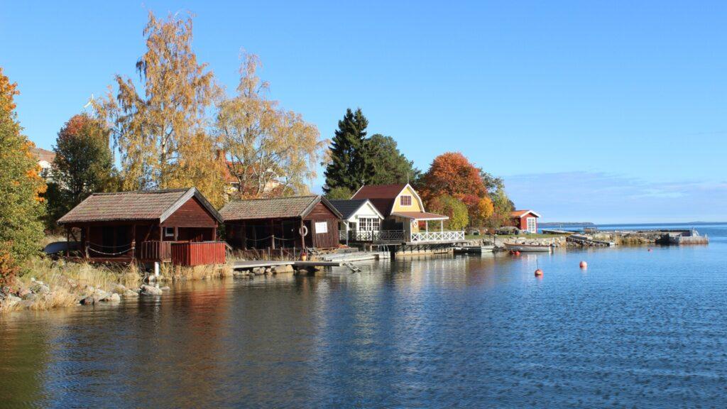 Das Fischerdorf Bönan
