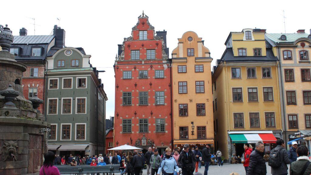 Gamla Stan in STockholm zeugt von historischer Bedeutung.