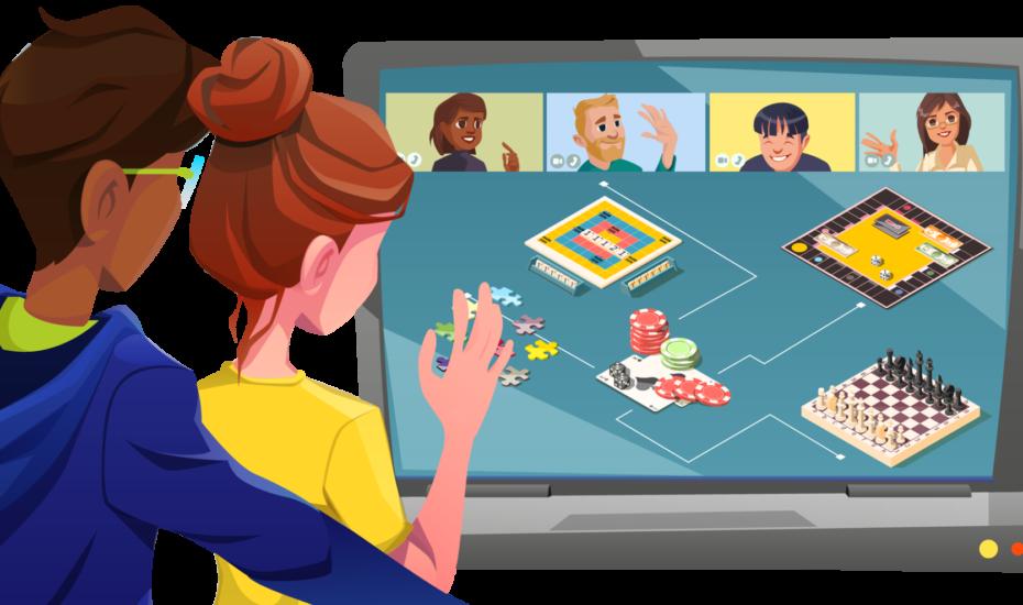 Online Spieleabend – spielerisch dem Corona-Blues entkommen