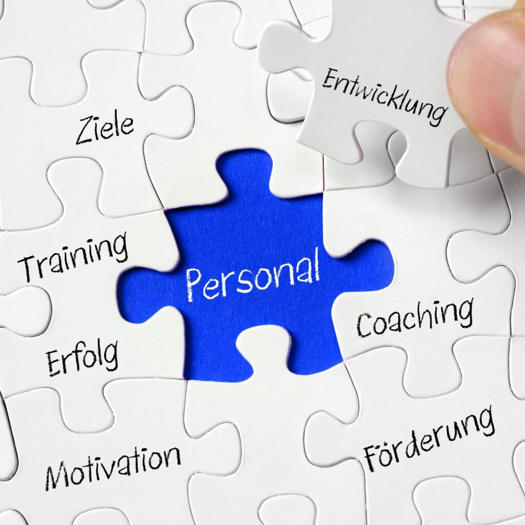 Personalentwicklung Puzzle
