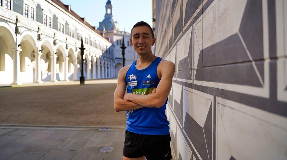 Jonas Müller DEC Alumni Marathonlauf zur Promotion
